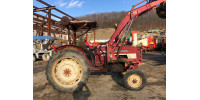 Трактор Komatsu International 474 с куном, №583