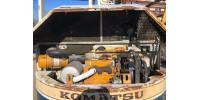 Экскаватор Komatsu PC50UU с гидромолотом, стрела робот