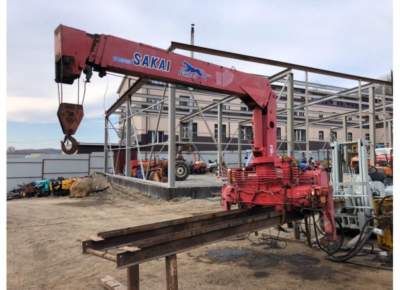 Sakai SK374A, стрела 10 метров, N 456